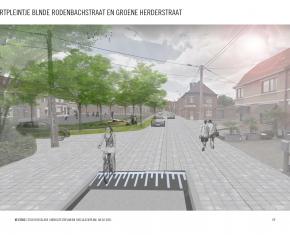 buurtpleintje Blinde Rodenbachstraat - Groene Herderstraat