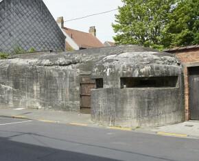 Bunker in de Sint-Hubrechtsstraat