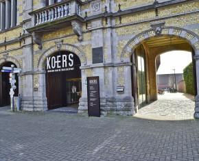 ingang museum KOERS