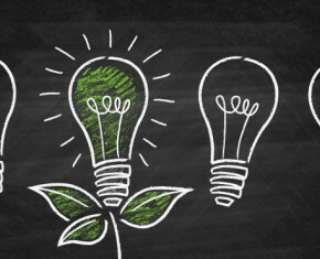 tekening energiezuinige lampen