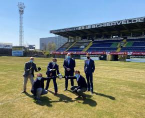 partners in samenwerking voor voetbalfaciliteiten schiervelde