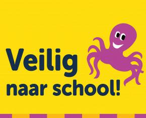 banner veilig naar school