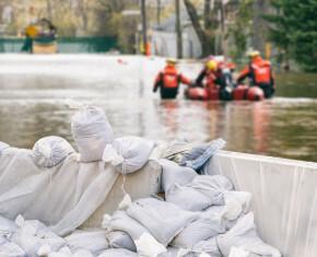 overstromingen in ons land