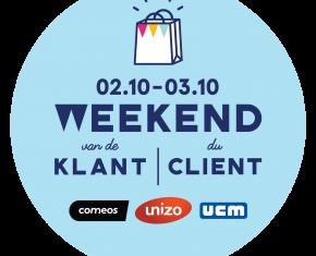 logo weekend van de klant