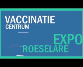 Toon vergrote weergave in een popup (Opbouw Vaccinatiecentrum Roeselare)
