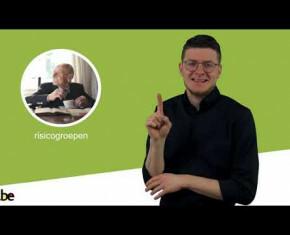 Toon vergrote weergave in een popup (In gebarentaal: informatie over vaccinatie)