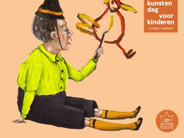 campagnebeeld van Kunstendag voor Kinderen