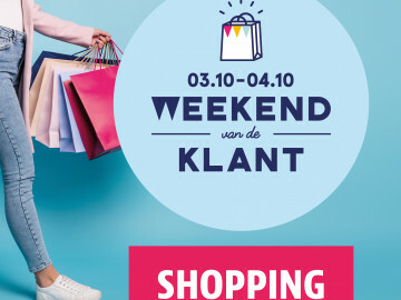 Affiche weekend van de klant
